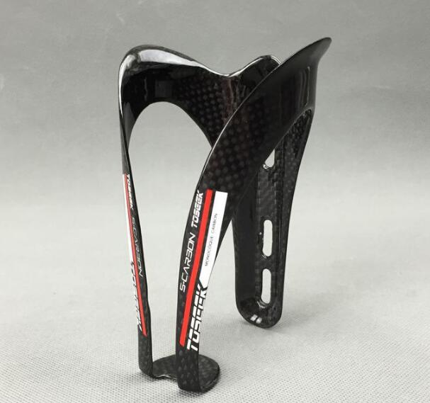 New TOSEEK Road bicycle full carbon drink water bottle cages Mountain bike carbon bottle holder