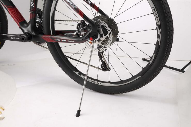 New portable mtb bike stand foldable carbon bike kickstand for road bike accessories