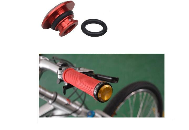 MTB Mountain Bicycle Bike MTB Cycling Aluminum Alloy Handlebar Grips Plug Handle Grip Bar End Stoppers