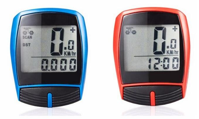 Waterproof Digital Bicycle Computer Wired Stopwatch Odometer Speedometer Clock Bike Computer Bike Accessories