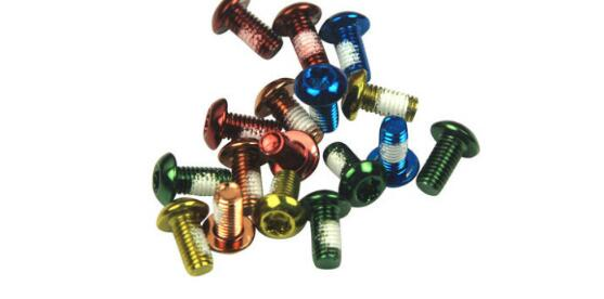 Disc Brake Rotor Bolts M5*10mm various colour options For bicycles bike cycle using