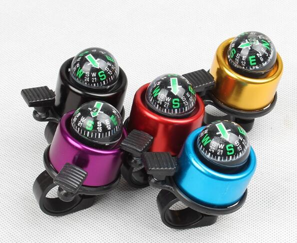 portable mtb bike bell compass crisp sound bicycle handlebar bell bike accessory