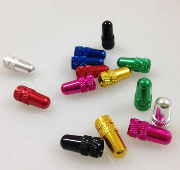 Presta Valve Bicycle Anodized Dust Cover MTB Road Bike Tyres Wheel Tire Valve Cap Anti-dust Cover French Valve