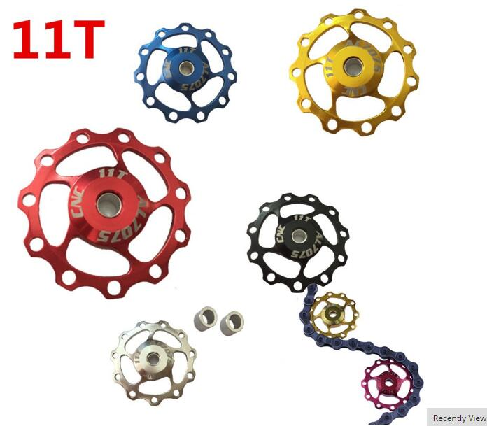 11T 13T MTB Mountain Road Bikes Bicycles Rear Derailleur Pulley Roller Idler Bearing Jockey Wheel Parts