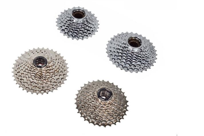 Mountain Bike Rotating Freewheel Card Type Flywheel 7/8/9/10 Speed 11-36T Bicycle Cassette Freewheels