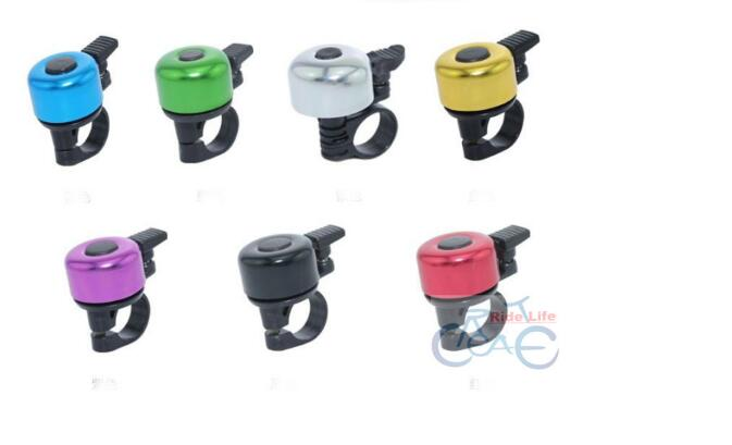 Alarm Horn Sound Alloy Metal Ring Handlebar Bell for Bike Bicycle Cycling colorful free shipping mountaion bike bell