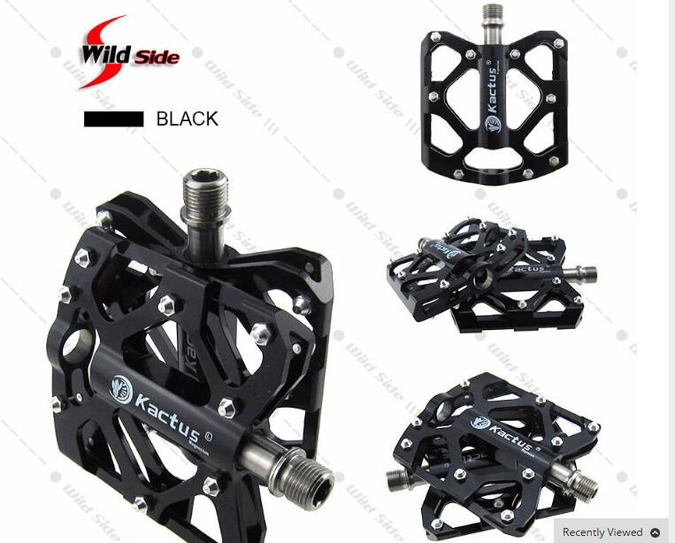Bike Bicycle Pedals 223g Mountain Road BMX Magnesium Alloy Titanium Axle Cycling Flat Pedal Refacciones de Bicicleta