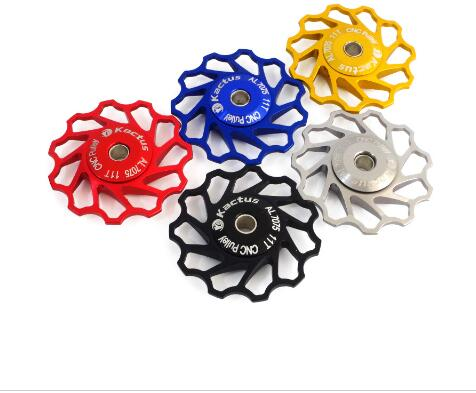 11 Tooth Cycling Jockey Wheel Aluminum Alloy 7075 MTB Road BMX Bike Bicycle Rear Derailleur Idler Pulley
