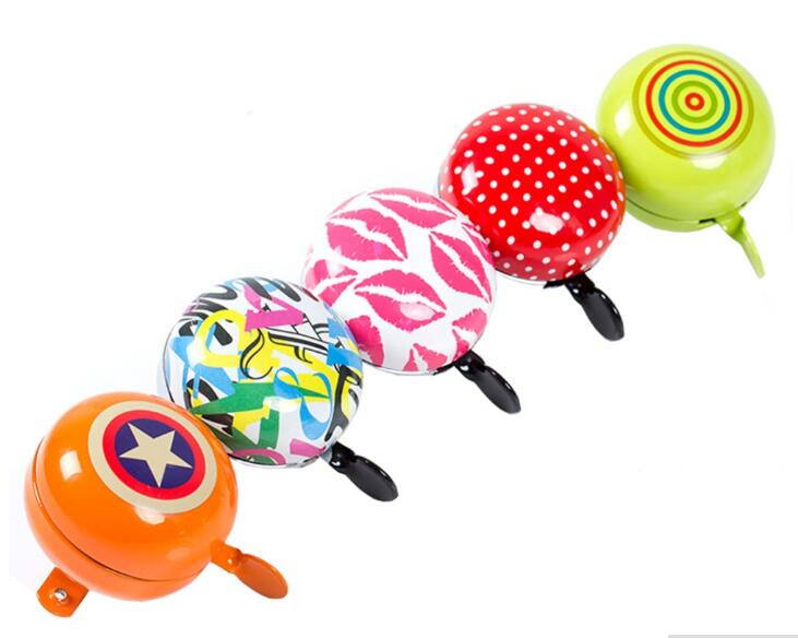 bike bell candy colour fexie cycling bell horn 60 x 65 mm 5 colour bicycle ring Bocina Bicicleta Alarma Sirena De Luz