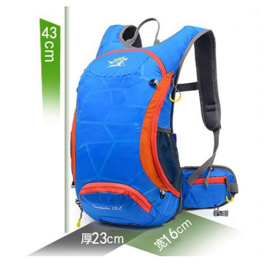 15L Waterproof Lightweight Breathable Riding Bicycle Backpack Mountaineering Bags Outdoor Sports Bags