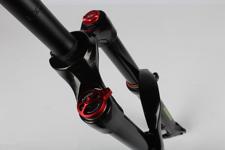 New LUTU mtb fork bike 26 / 27.5/ 29 bicycle suspension fork with remote control front fork bike parts 6 color
