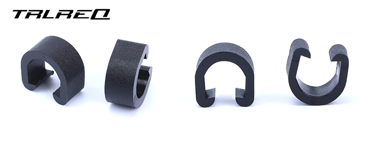 TRLREQ road bike brake cable clip fixed mtb shift cable housing