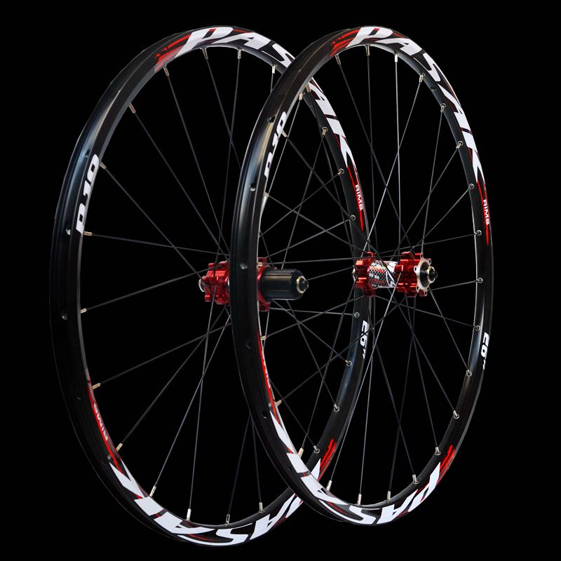 MTB Mountain Bike Four Sealed Bearings Ultra Light CNC Disc Wheels Rim 11 Speed Support