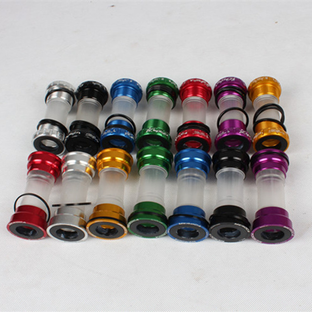 MEROCA Mtb / Road Bike Bottom Bracket M68 / M92 Aluminum CNC+Plastic Bicycle Frame Axis Bike Accessory 6 colors